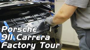 stuttgart porsche factory porsche 911 carrera factory tour production youtube