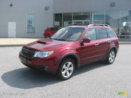 red subaru forester 2000 camellia red pearl 2009 subaru forester 2 5 xt limited exterior