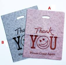 personalized gift bags 100pcs personalized gift bags plastic shopping bags wholesale with