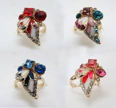 fancy design adjustable finger ring priyoshop