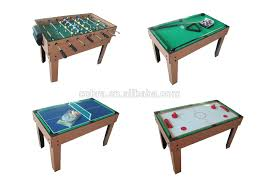 4 in one game table kbl 0909m top grade 4 in 1 multi game table 5ft soccer table with