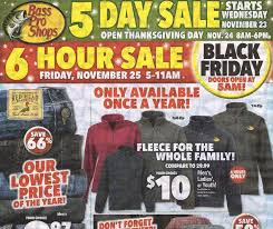 bass pro shops black friday ad 2016 money saving