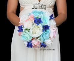 Wedding Flowers Blue 392 Best Blue Wedding Flowers Images On Pinterest Blue Wedding