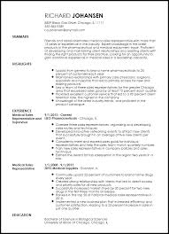 guide to create resume free professional sales representative resume template