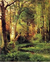 Best Paintings by Thomas Moran Forest Scene Painting Best Paintings For Sale