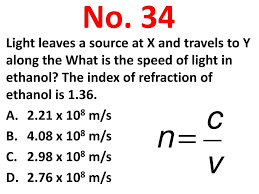 what is the speed of light 3 pts each packet completed review packet ppt video online download