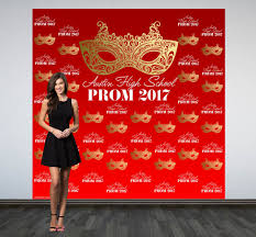 prom backdrops prom personalized photo backdrop masquerade mask birthday