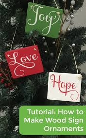 tutorial how to make wood sign ornaments cutting for