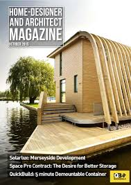 Home Design Digital Magazine Home Designer U0026 Architect October 2015 By Jet Digital Media Ltd