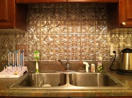 Tin Tiles For Kitchen Backsplash Kitchen Tin Backsplash Fasade Backsplash Peel And Stick Wall