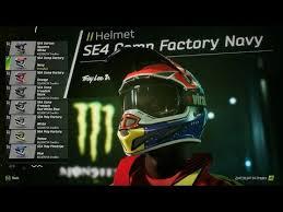 helmet design game supercross the game 2018 official costumization screenshot face