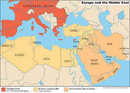 The Middle East Map by Eth Center For Security Studies Center For Security Studies Css