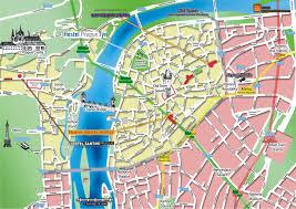 Map Of Budapest Map Of Prague Center Prague Vienna Budapest Pinterest