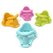 4 colors baby bath tub ring seat kids anti slip security safety
