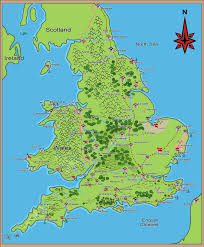 Map Of Britain Medieval And Middle Ages History Timelines Medieval Maps