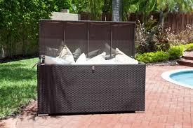 patio furniture cushion storage ideas sandydeluca design