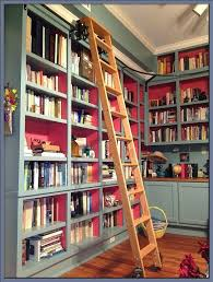 Library Bookcases With Ladder Library Ladder Plans U2013 Instavite Me