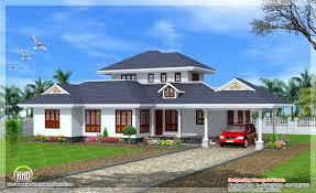 kerala single floor house designs style 4 bedroom plans home