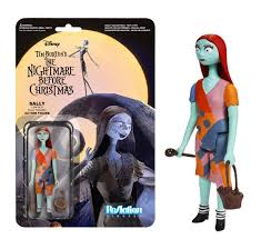 reaction nightmare before sally figure funko