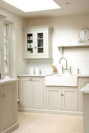 the 25 best belfast sink ideas on pinterest butcher block i love this simple classic bespoke kitchen design by devol kitchens the muted tones carrara marble worktops subway tiles classic cabinets