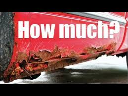 how much does it cost to remove rust on your car