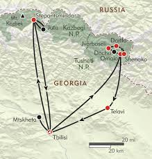 Caucasus Mountains On World Map by Hiker U0027s Journey To The Caucasus Route Map Georgia Pinterest
