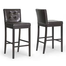 revolving bar stool bar stools leather counter stools with backs modern tufted bar