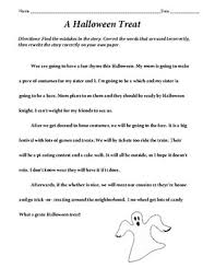 halloween homonyms worksheets by happyedugator tpt