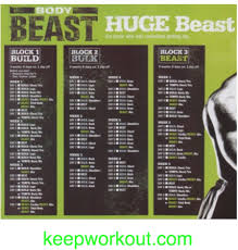 body beast back workout routine most popular workout programs
