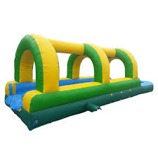 tropical palm trees water slide bounce house castle castle