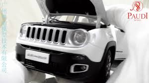jeep new white paudi all new jeep renegade 2016 white 1 18 scale die cast model