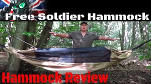 free soldier camping hammock review for survival backpacking