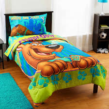 Scooby Doo Bed Sets Scooby Doo Smiling Scooby Bedding Comforter Walmart
