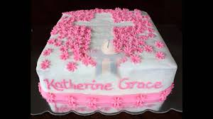 How To Decorate Christening Cake Christening Party Cake Ideas Youtube