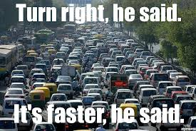 Everywhere Meme Maker - traffic jam weknowmemes generator