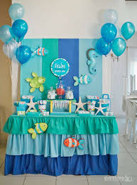 baby boy birthday themes the sea birthday party ideas photo 1 of 40 catch my party