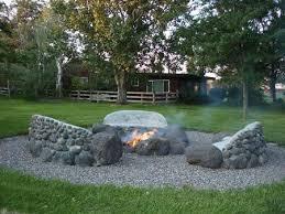 Rock Firepits 26 Best Pits Images On Pinterest Bonfire Pits Cfires