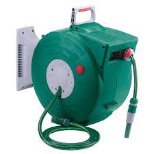 water hose reel wall mount draper garden hose retractable 20m reel kit 89210
