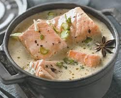cuisiner le saumon une blanquette de saumon en un rien de temps c est possible vite
