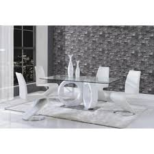 black and white kitchen table glass rectangle kitchen dining room tables for less overstock com