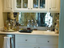 mirror backsplash in kitchen house revivals mirrors in the kitchen