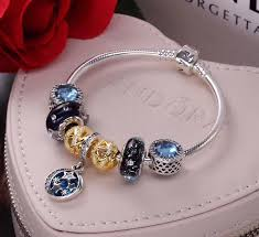 bracelet luxury charms images Pandora luxury charm bracelet with 7 pcs charms JPG