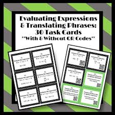 translating verbal expressions into algebraic expressions worksheets the 25 best translating algebraic expressions ideas on