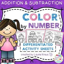 these addition and subtraction practice sheets are a wonderful way