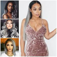 african american hairstyles for grey hair 2016 grey hair color ideas for black women 2017 haircuts