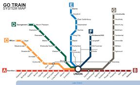 Train Map Of Boston by Go Train Map Toronto Go Train Map Canada
