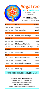 winter 2017 schedule 10 july 17 september tree stanthorpe