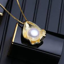 silver vintage necklace images Fenasy pearl necklace natural pearl pendant necklace sterling jpg