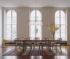 lovely linear chandelier dining room decorating ideas images in