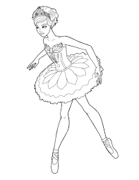 free ballerina coloring pages for girls coloringstar